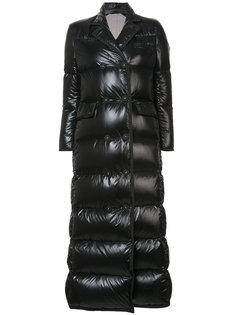 стеганое двубортное пальто Thom Browne