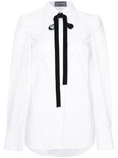 рубашка с завязкой на бант Monique Lhuillier