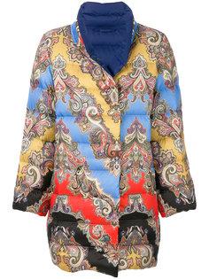 дутая куртка с принтом  Etro