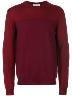двухцветный свитер Etro