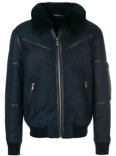 куртка-бомбер с декоративной строчкой  Dolce & Gabbana
