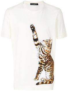 футболка с нашивкой Zambia Dolce & Gabbana