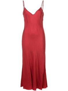 длинное комбинированное платье Organic By John Patrick