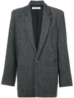 меланжевый однобортный пиджак  Organic By John Patrick