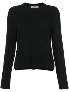 укороченным свитер с круглым вырезом Organic By John Patrick