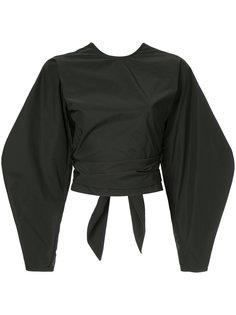 укороченная блузка Lasso с запахом Ellery
