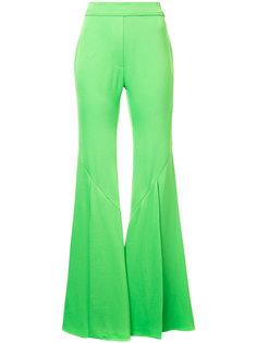 широкие укороченные брюки Ellery