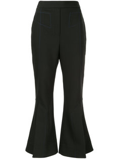 расклешенные укороченные брюки Ellery