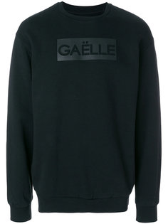 толстовка с принтом логотипа Gaelle Bonheur