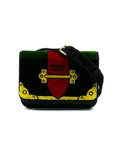 поясная сумка с принтом тромплей Prada