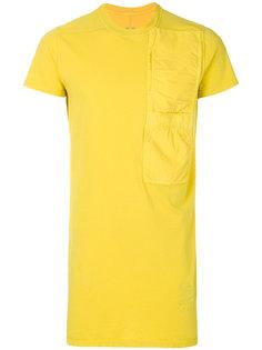 футболка с короткими рукавами и карманом  Rick Owens DRKSHDW