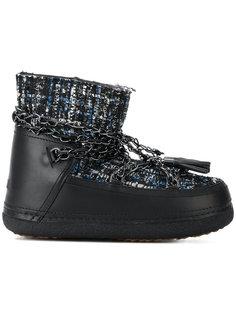 твидовые зимние ботинки Inuiki
