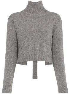 свитер Amanda с завязкой на спине Rejina Pyo