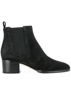 ботинки челси на блочном каблуке  Sergio Rossi