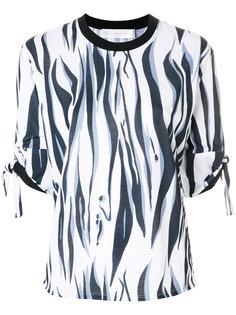 блузка с тигром Victoria Victoria Beckham