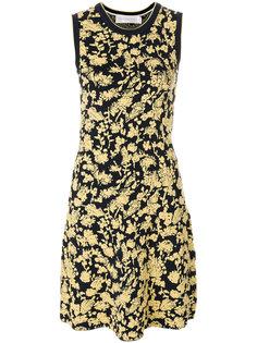 платье с жаккардовым узором Victoria Victoria Beckham
