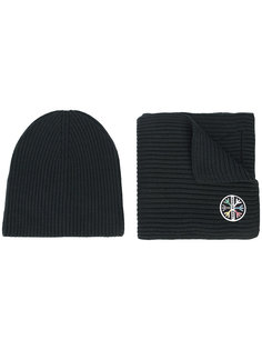 1st Tracks hat & scarf Aztech Mountain