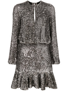 платье мини с пайетками Alexis