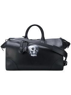 дорожная сумка с принтом черепа  Bertoni 1949