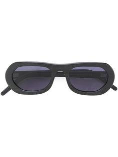 овальные солнцезащитные очки Delirious