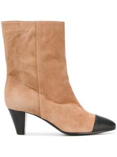 ботинки с контрастным носком Via Roma 15