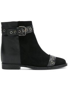 ботинки с пряжкой Via Roma 15