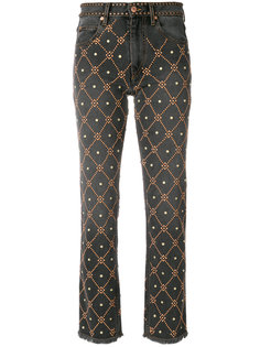 джинсы с заклепками  Isabel Marant