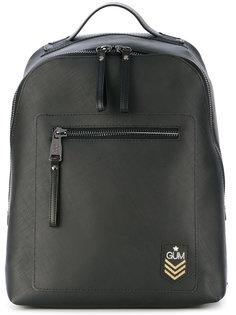структурированный рюкзак с логотипом Gum