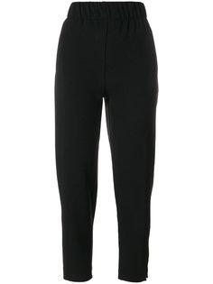зауженные брюки с завышенной талией Ganni