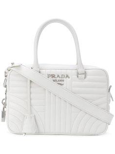 средняя сумка-тоут Prada