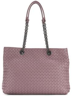 плетеная сумка-шоппер Bottega Veneta