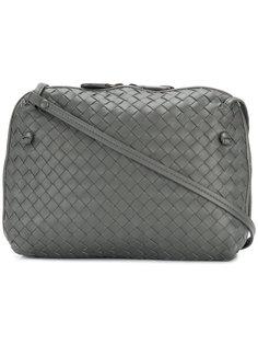 плетеная сумка с двумя отделами Bottega Veneta