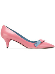 декорированные туфли с бантом Prada