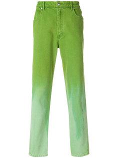 прямые брюки с выцветшим эффектом Eckhaus Latta