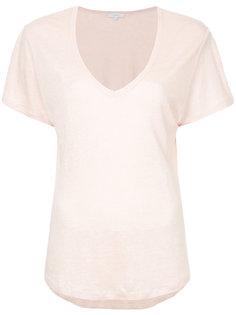 футболка с глубокой V-образной горловиной Venroy
