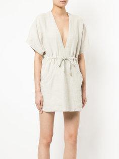 платье свободного кроя с V-образной горловиной Venroy