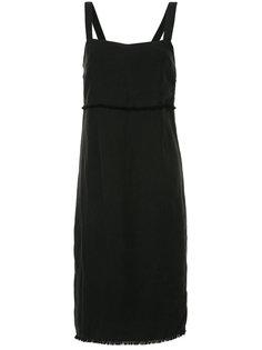 платье-миди с необработанными краями Venroy