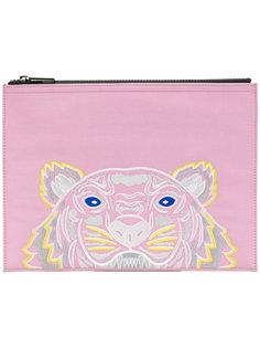 клатч с изображением тигра Kenzo