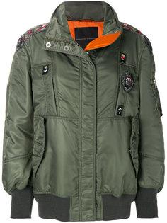 куртка-бомбер с вышивкой  Ermanno Scervino