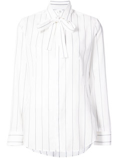 striped tie front shirt Ys Y`s