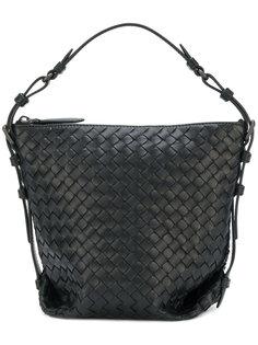 сумка-тоут с плетением Intrecciato Bottega Veneta
