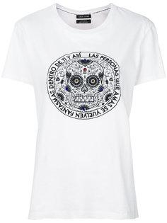 футболка с принтом  Each X Other