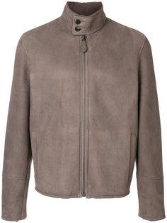 куртка с отделкой из овчины Bottega Veneta