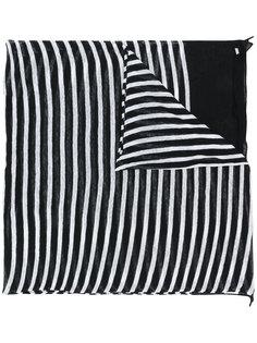 шарф в полоску Saint Laurent