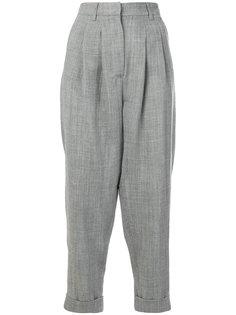 брюки строгого кроя  заниженной посадки Mm6 Maison Margiela