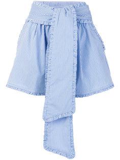 полосатые шорты MSGM