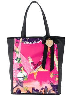 сумка-тоут с принтом  Juicy Couture