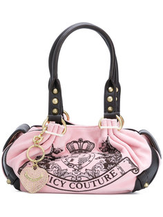 сумка-тоут с вышитым логотипом  Juicy Couture