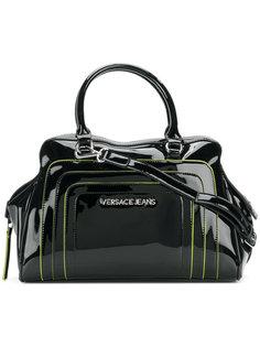 сумка с ручками и логотипом  Versace Jeans