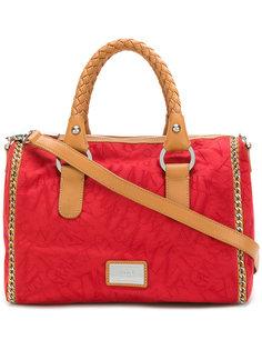 сумка-тоут с плетеными ручками  Armani Collezioni